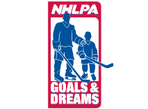 Logo for NHLPA - Goals and Dreams