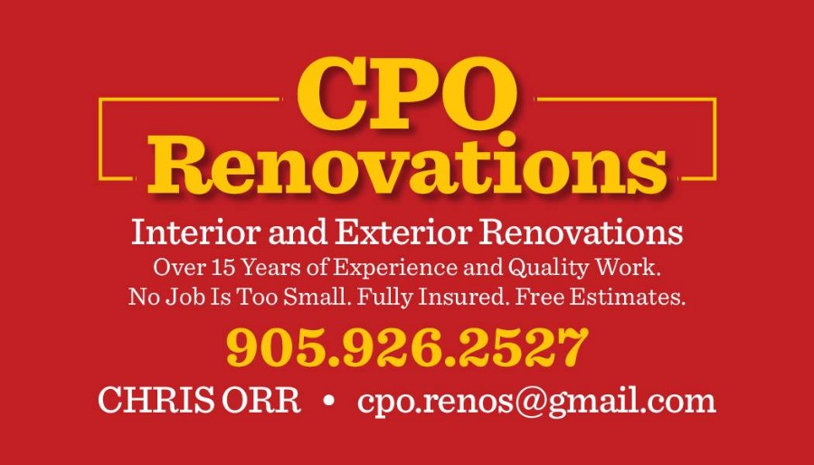 CPO Renovations