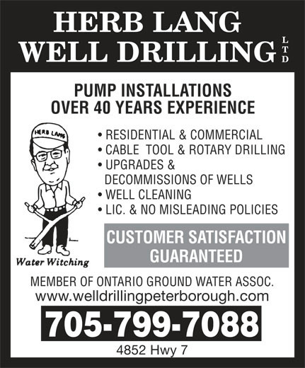 Herb Lang Well Drilling